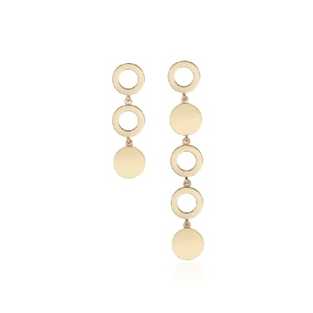 ALL-AROUND 3.5 UNBAL EARRINGS
