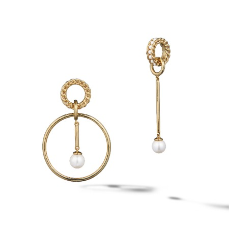 GENTLER UNBALANCE EARRINGS