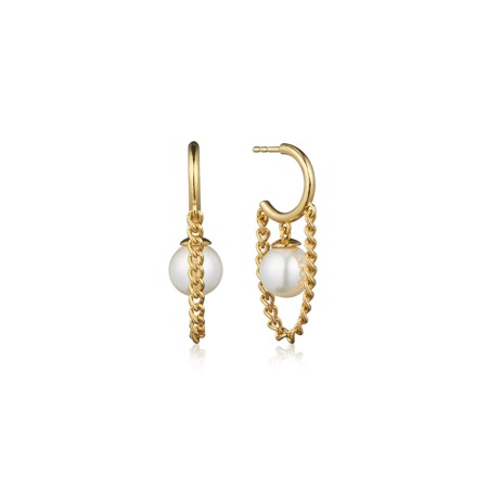 [10/12부터 순차배송]HAISLEY DROP EARRINGS (Pearl)