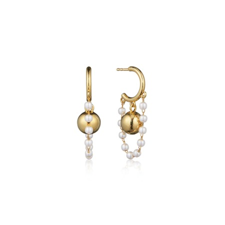 [10/12부터 순차배송]HAISLEY DROP EARRINGS (Ball)